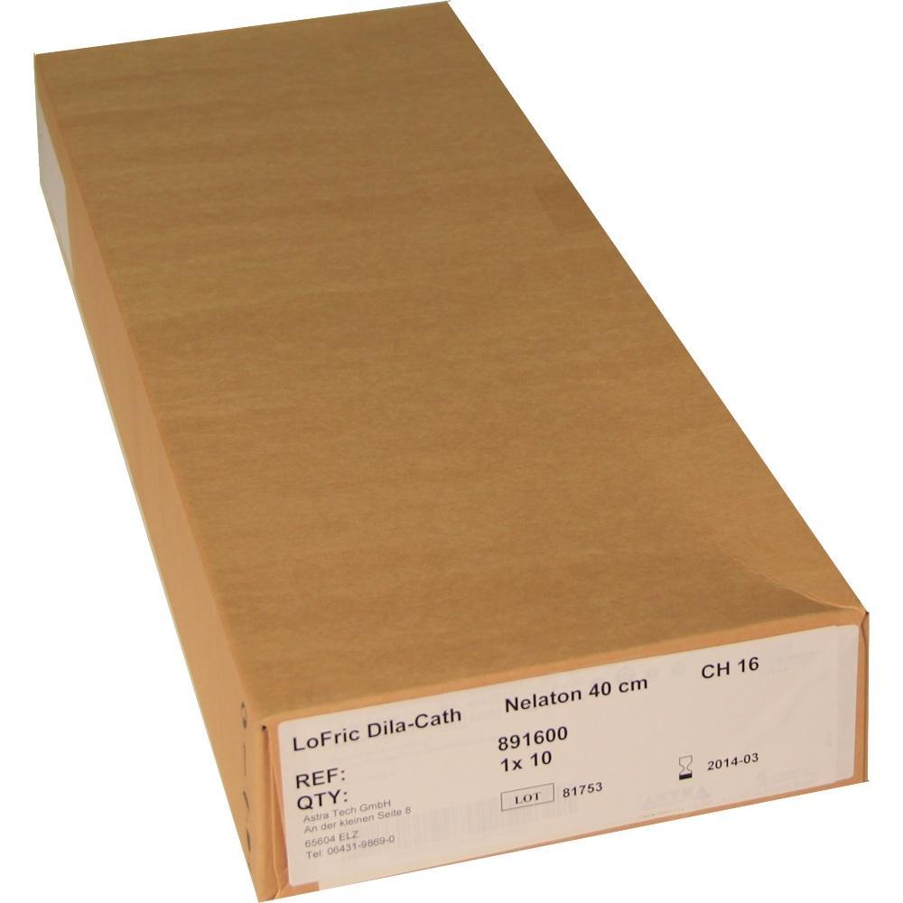 Lofric Dila-Cath Katheter Nelaton Ch 16 40 cm 10 St