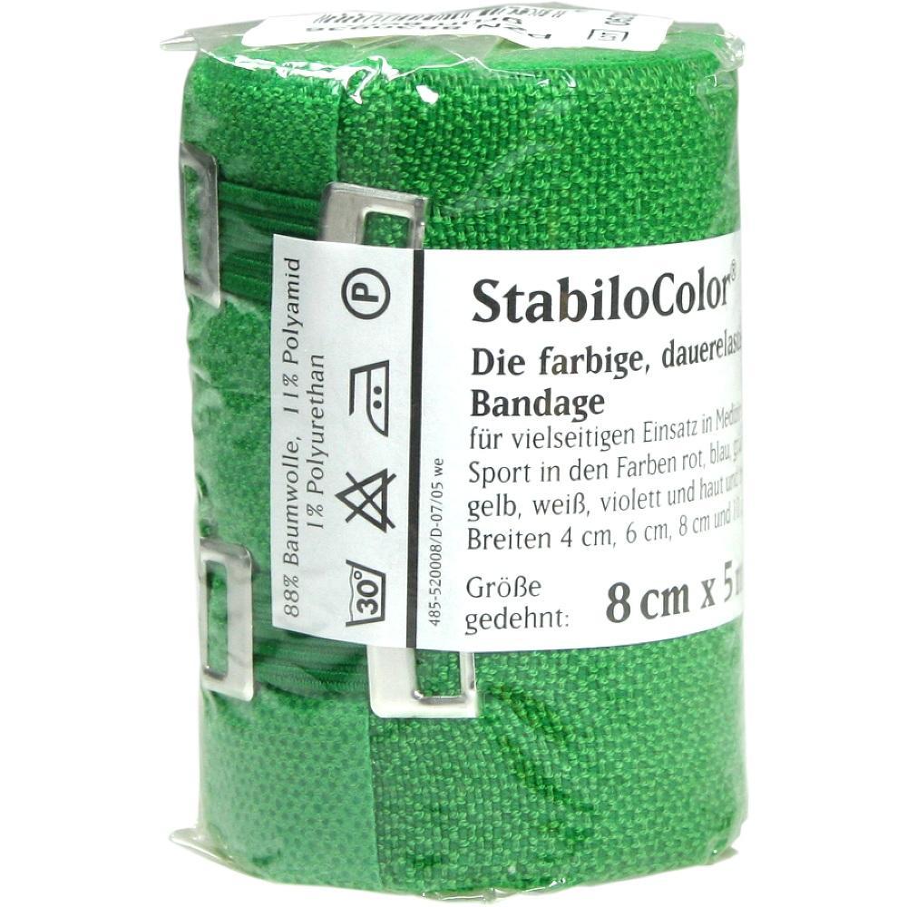 Bort StabiloColor Binde 8cm grün 1 St
