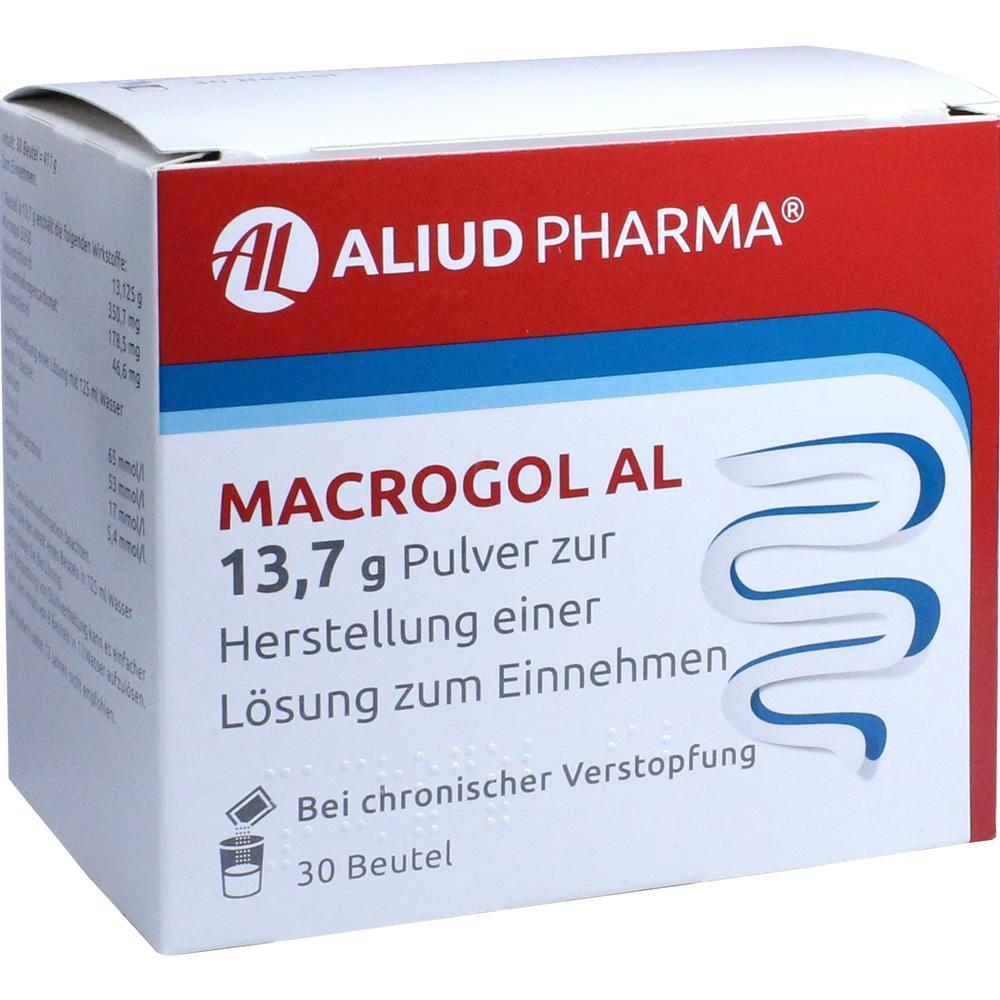 Macrogol Al 13,7 g Plv.z.Her.e.Lsg.z.Einnehmen 30 St