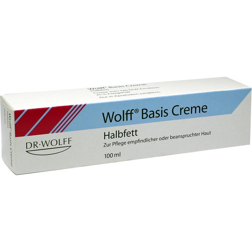 Wolff Basiscreme halbfett 100 ml