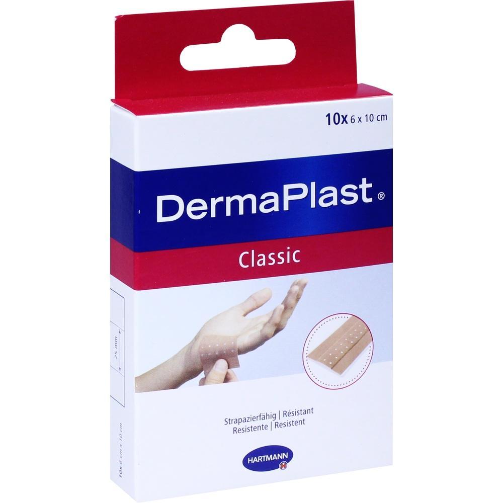 Dermaplast classic Pflaster 6x10 cm 10 St