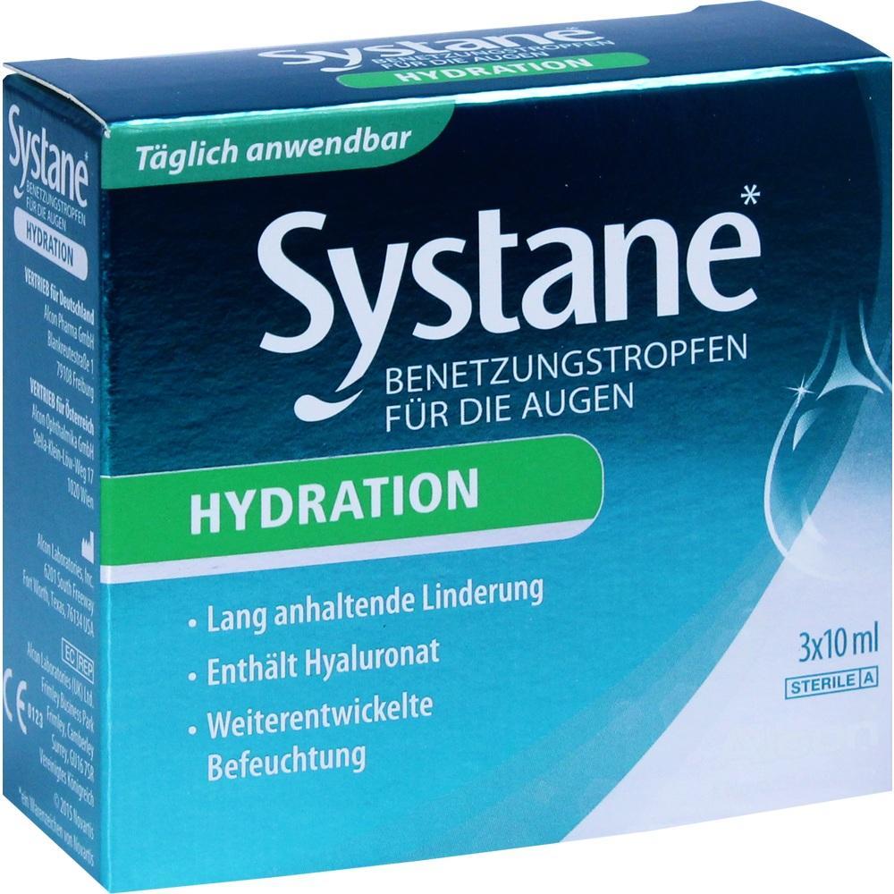 Systane Hydration Benetzungstropfen für die Augen 3X10 ml