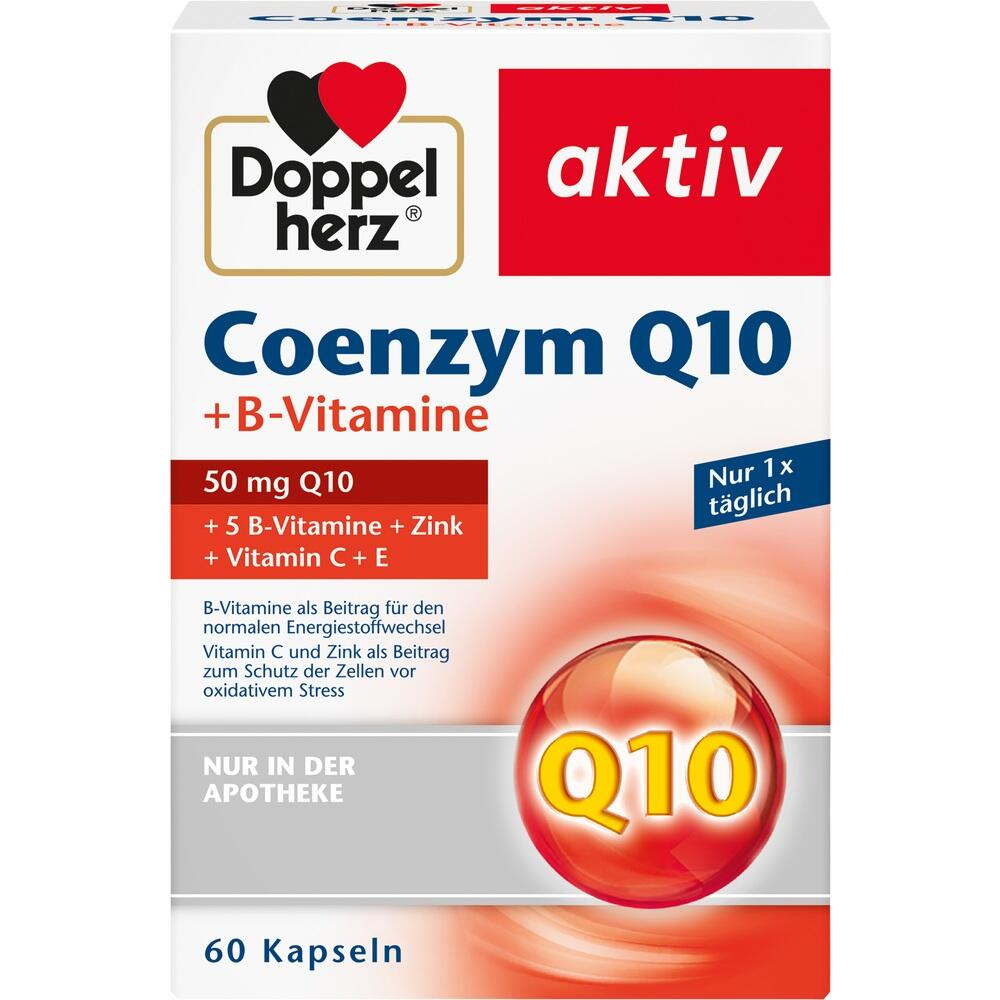Doppelherz Coenzym Q10+B Vitamine Kapseln 60 St
