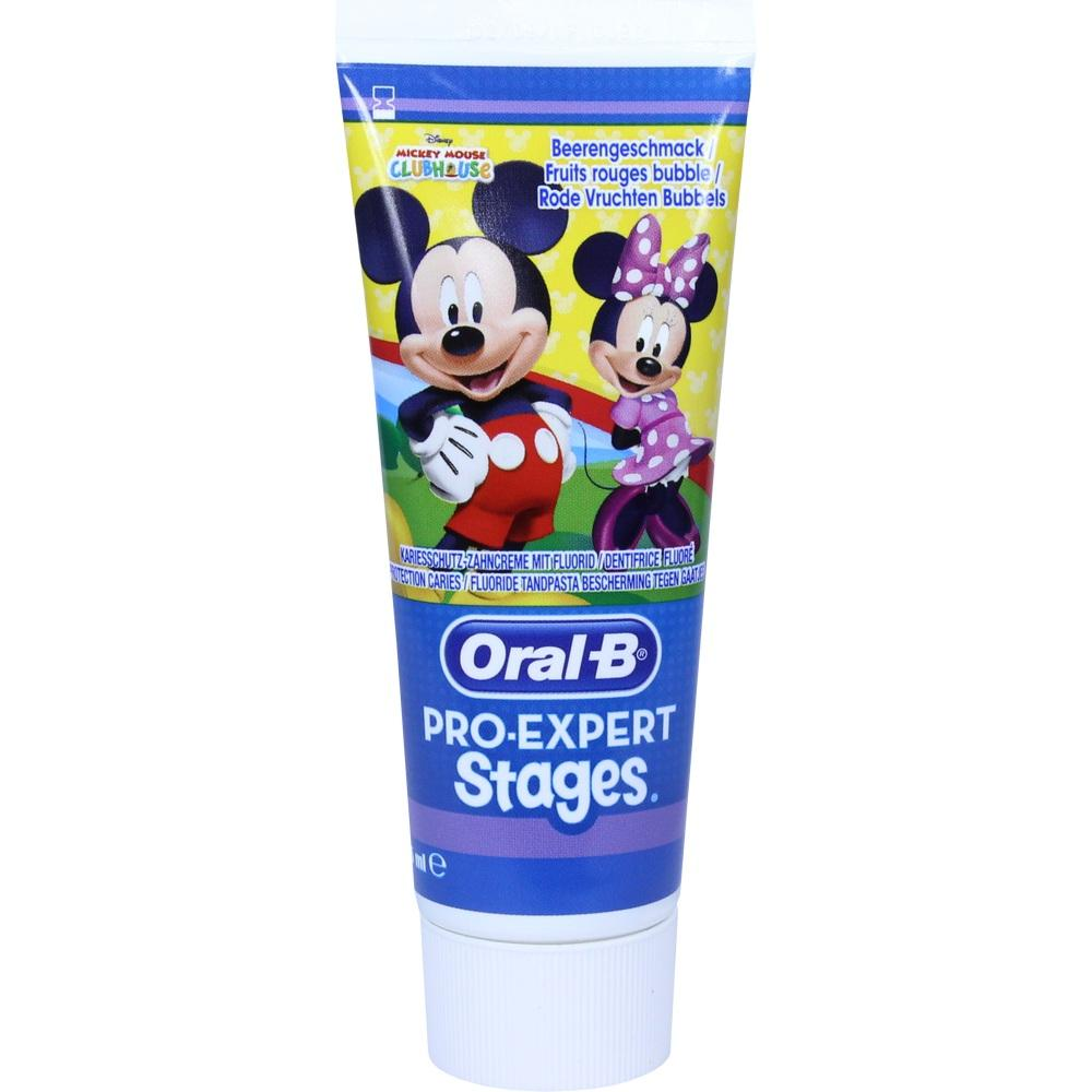 Oral B Stages Kinderzahncreme Mickey Mouse 75 ml