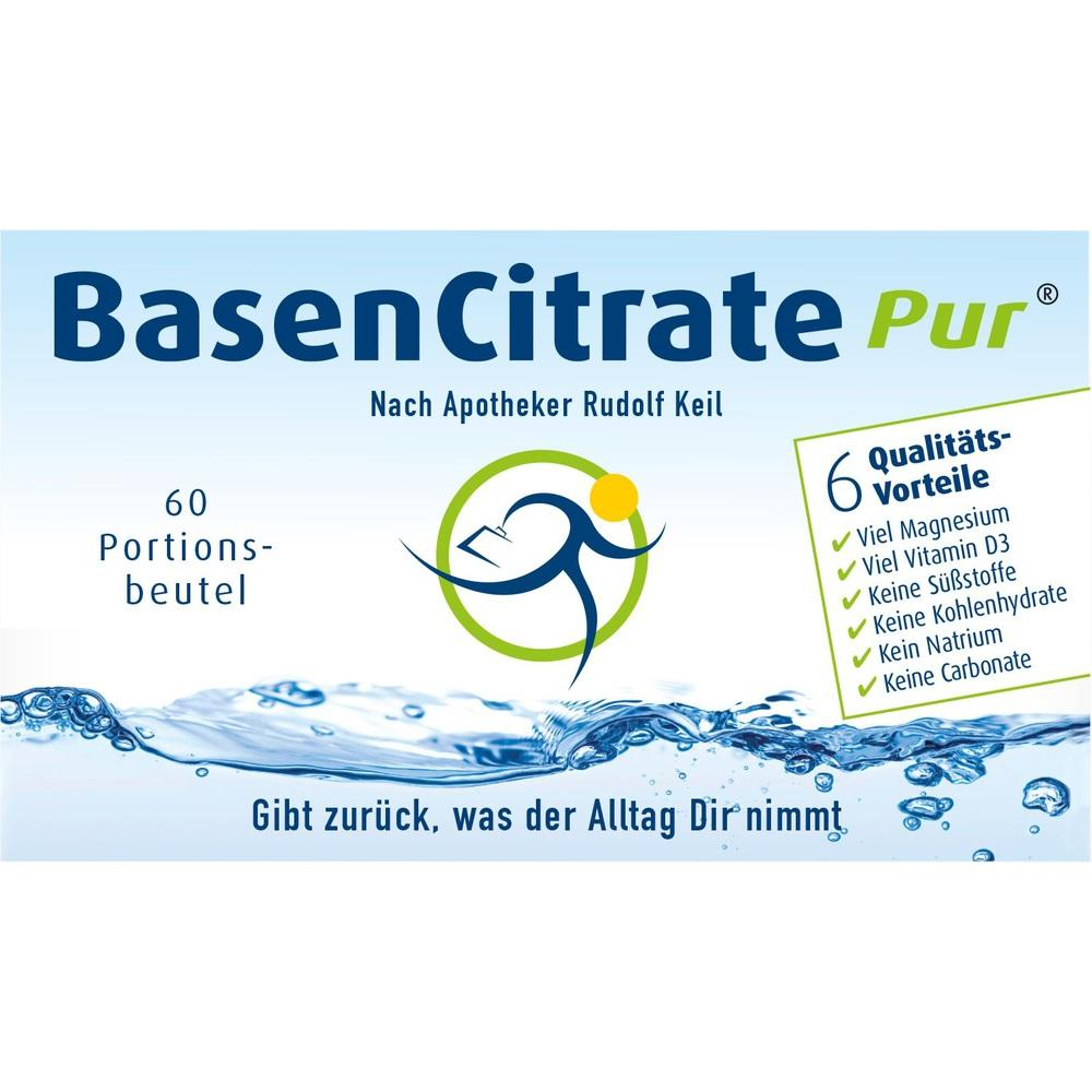 Basen Citrate Pur n.Apotheker Rudolf Keil Pulver 60X4.1 g