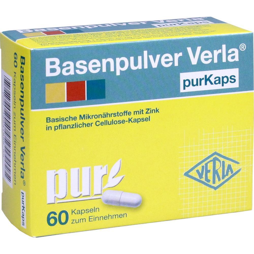 Basenpulver Verla purKaps 60 St