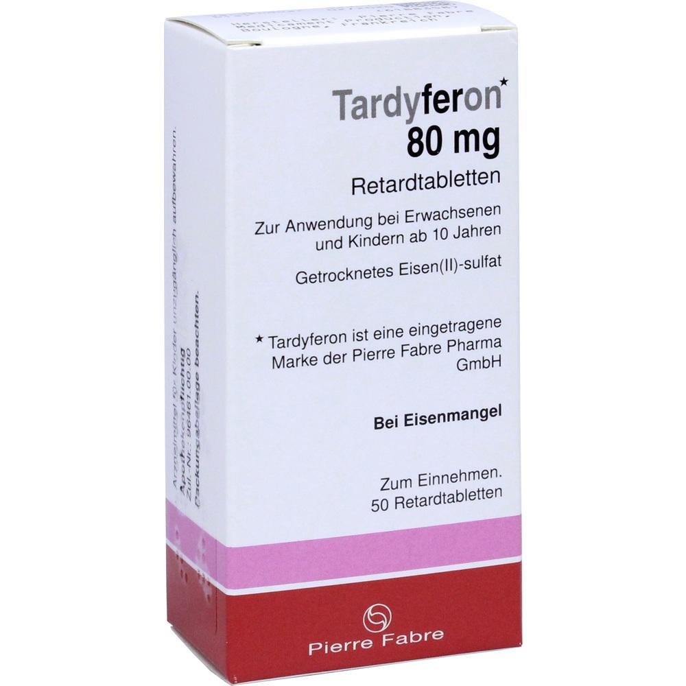 Tardyferon Retardtabletten 50 St