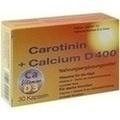 CAROTININ+Calcium D 400 Kapseln