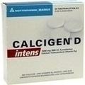 CALCIGEN D intens 1000 mg/880 I.E. Kautabletten