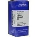BIOCHEMIE 16 Lithium chloratum D 12 Tabletten