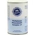 MULTIPLASAN Mineralstoffkompex 17 Tabletten