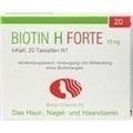 BIOTIN H forte Tabletten