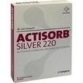 ACTISORB 220 Silver 9,5x6,5 cm steril Kompressen