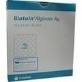 BIATAIN Alginate Ag Kompressen 15x15 cm mit Silber