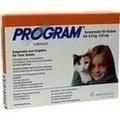 PROGRAM Suspens.f.Katzen b.4,5 kg/133 mg Ampullen