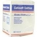 CUTISOFT Cotton Kompr.10x10 cm unsteril