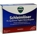 WICK Schleimlöser 75 mg einmal täglich Retardkaps.