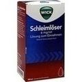 WICK Schleimlöser 6 mg/ml Lösung zum Einnehmen