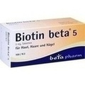 BIOTIN BETA 5 Tabletten
