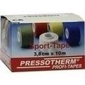 PRESSOTHERM Sport-Tape 3,8 cmx10 m rot