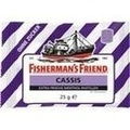 FISHERMANS FRIEND Cassis ohne Zucker Pastillen