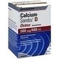 Calcium-Sandoz® D Osteo Kautabletten