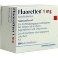 FLUORETTEN 1,0 mg Tabletten