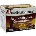 BAD HEILBRUNNER Tee Ayurved.Gewürz Filterbeutel