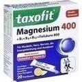 TAXOFIT Magnesium 400+B1+B6+B12+Folsäure 800 Gran.