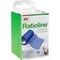 RATIOLINE acute Fixierbinde kohäsiv 8 cmx4 m blau