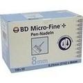 BD MICRO-FINE+ 8 Nadeln 0,25x8 mm
