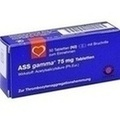 ASS GAMMA 75 mg Tabletten