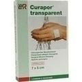 CURAPOR Wundverband steril transparent 5x7 cm