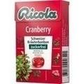 RICOLA o.Z.Box Cranberry Bonbons