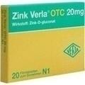 ZINK VERLA OTC 20 mg Filmtabletten