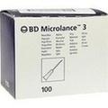 BD MICROLANCE Kanüle 26 G 1/2 Insul.0,45x13 mm
