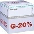 GLUCOSE 20% B.Braun Mini Plasco connect Inj.-Lsg.