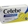 CETEBE ABWEHR plus Vitamin C + Zink Kapseln