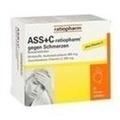 ASS + C ratiopharm gegen Schmerzen Brausetabletten