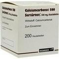 CALCIUMCARBONAT 500 Kautabletten