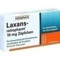 Laxans ratiopharm 10 mg Zäpfchen