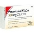 PARACETAMOL STADA 500 mg Zäpfchen