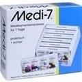 MEDI 7 Medikamentendosierer für 7 Tage weiß