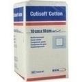 CUTISOFT Cotton Kompr.10x10 cm unster.12fach