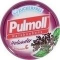 PULMOLL Holunder zuckerfrei Bonbons