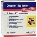 COVERLET lite junior Augenokkluionsfpl.47x67 mm