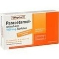 Paracetamol ratiopharm 1000 mg Erw.-Suppositorien
