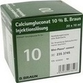 CALCIUMGLUCONAT 10% MPC Injektionslösung