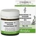 BIOCHEMIE 13 Kalium arsenicosum D 6 Tabletten