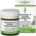 BIOCHEMIE 14 Kalium bromatum D 6 Tabletten